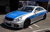 CLS Brabus Rocket Police Car