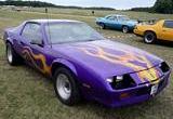 Chevrolet Camaro Flames