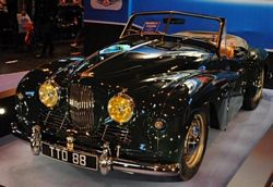 Classic Car of the Year 2010 winner a 1954 Jowett Jupiter SC