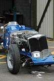 Crashed 1937 Riley Falcon Special