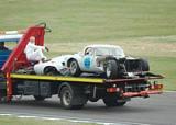 Crashed 1962 Jag E Type