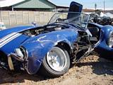 Crashed AC Cobra Replica