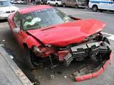Crashed Camaro