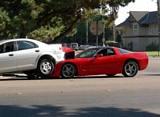 Crashed Corvette