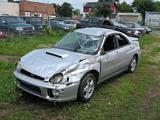 Crashed Impreza Turbo