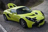Crashed Lotus Elise