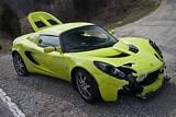 Crashed Lotus Elise