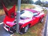 Crashed VX220