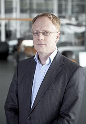 Dick Glover McLaren Automotive Research Director