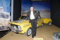 Duncan Mortimer -with 1978 Mini 1275GT