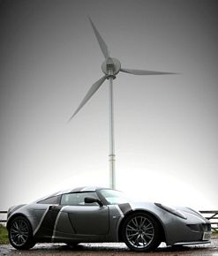 Ecovelocity Nemisis Electric Sports Car