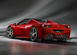 The new Ferrari 458 Spider