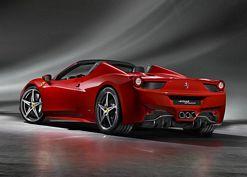 The new Ferrari 458 Spider