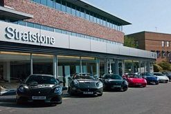 Opening of new Ferrari showroom in Wilmslow