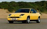 Fiat Coupe Yellow