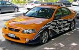 Ford Falcon BF XR6 Police Car