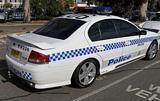 Ford Falcon BF XR6 Turbo Police Car