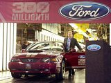 Ford celebrates 300 millionth-vehicle 2004 Ford Mustang GT convertible