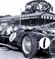 Goodwood pays tribute to Juan Manuel Fangio at the 2011 Revival