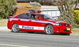 Holden Commodore SS Police Car