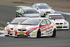 Honda duo-Gordon Shedden vs Matt Neal
