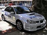 Impreza Police Car