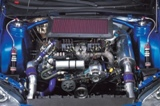 Impreza Rally Car Engine 2007