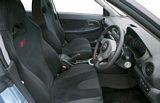 Subaru Impreza STi WR1 Special Edition Interior