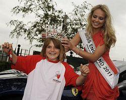 Jade Harrison and Miss England
