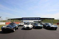Jag E-Type Silverstone