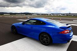Jaguar XKR-S at the Race the Runway charity event
