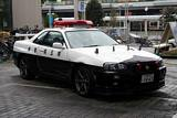 Japanese Skyline R34 GTR Police Car