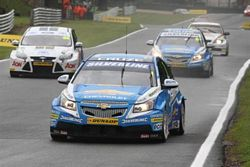 Jason Plato and Alex MacDowall at Oulton Park
