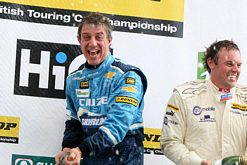 Jason Plato at Rockingham 2011