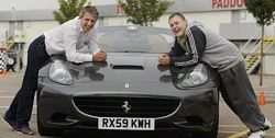 Jason Plato with Callum Blakemore