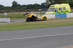 Jordan Witt and Chevron GR8 GT survive massive crash in GT Cup