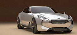 Kia GT concept car unveiled at the 2011 Frankfurt Motor Show