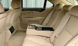 Lexus LS460 Rear Seats