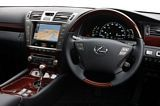 Lexus LS600h Dashboard