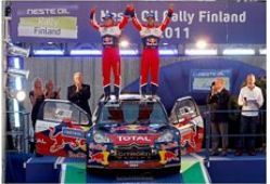 Loeb takes second Finland victory