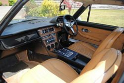 Lord Brocket Rocket 1969 Ferrari 365GT Interior