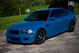 M3 E46 Light Blue Front Side