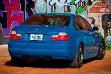M3 E46 Light Blue Rear