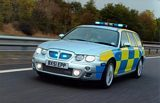 MG ZT-T Police Car