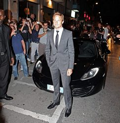 MP4 12C in Milano - Jenson Button