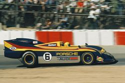Mark Donohue Porsche 917 30 Spyder in 1973