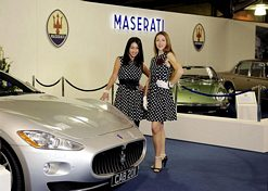 Maserati stand at Goodwood Revival 2011