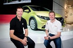 Matt Neal and Gordon Shedden