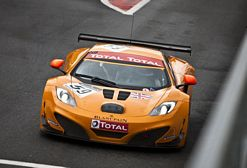 McLaren MP4 12C GT3 at 24 Hours of Spa