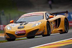 McLaren MP4 12C GT3 at 24 Hours of Spa